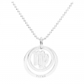 Colgante Virgo - 18.5 mm  de Plata Sterling 925 x1