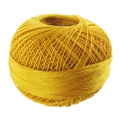 Hilo algodón Lizbeth talla 80 Gold n°611 x168m