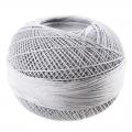 Hilo algodón Lizbeth talla 80 Silver n°605 x168m