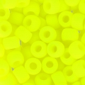 Rocallas Matubo 7/0 - 3.5 mm Neon Yellow Mat x10g