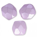 Facetadas 3 mm Pastel Light Lilas x50