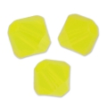 Toupies en cristal Swarovski 4 mm Yellow Opal  x50