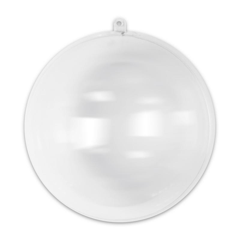 Bola De Navidad Transparente Para Rellenar 200 Mm X1 Perles Co - Bolas-de-navidad-transparentes