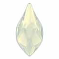 Cabochon à coller Flame Swarovski 2205  7.5 mm White Opal