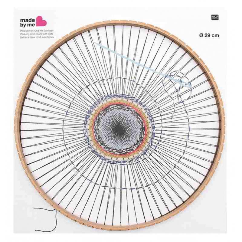 Telar para tejer la lana redonda con ranuras 29 cm x1 - Rico Desig ...