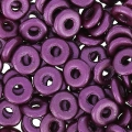 O Bead 4 mm Pastel Bordeaux x5g