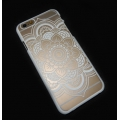 Funda Rígida a personalizar para iPhone 5/5S Decor Mandalas Blanco x1