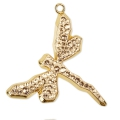 Pave Pendant Swarovski 67523 30 mm Crystal Golden Shadow dorado