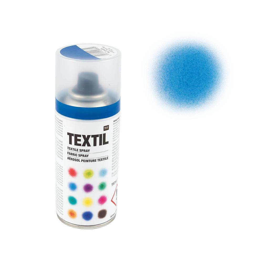 Pintura Para Tela En Spray Azul Oscuro X 150 Ml Perles Co