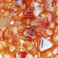 Khéops® de Puca® 6 mm Crystal Orange Rainbow x10g