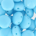 Candy Beads 2-hole 8 mm Opaco Aquamarine x20