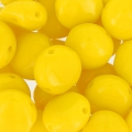 Candy Beads 2-hole 8 mm Opaco Amarillo x20