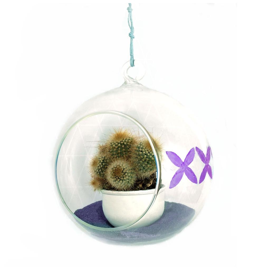 soporte de vidrio para decorar jarrn bombilla cm