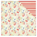 Kit Papeles estampados Julie Nutting Nautical Bliss 30.5x30.5 cm Ancla/Rayura x1