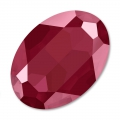 Cabuchón Swarovski 4127 ovalado 30x22 mm Crystal Dark Red x1