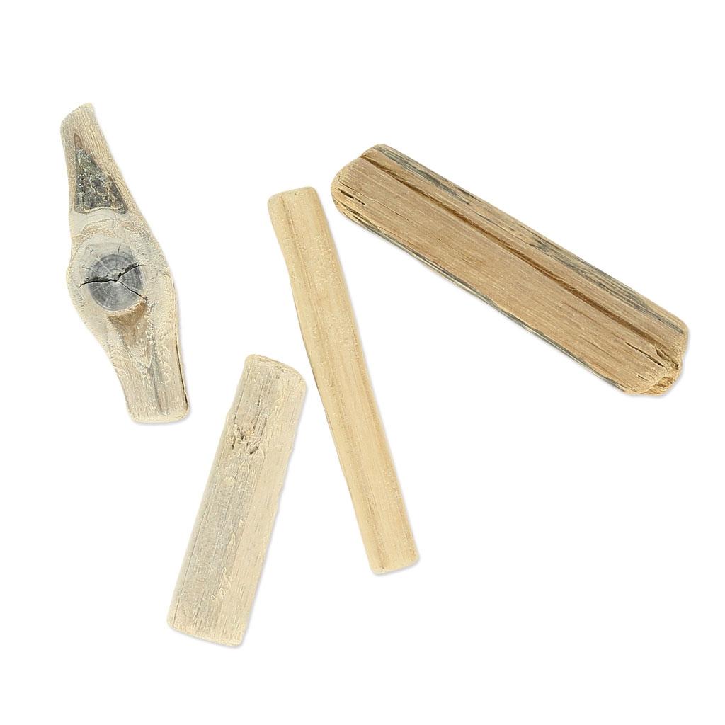 Surtido de palos de madera flotante 8 12 cm natural for Bar flotante de madera