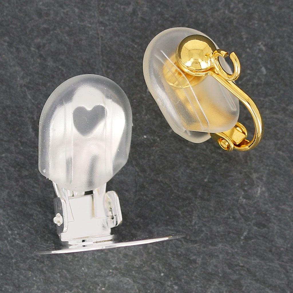 ce4ac6904315 Tuercas o traseras para pendientes clip 14x12 mm de silicona x6 ...