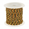 Parachut Cord 1 mm Yellow/Multicolor x10m