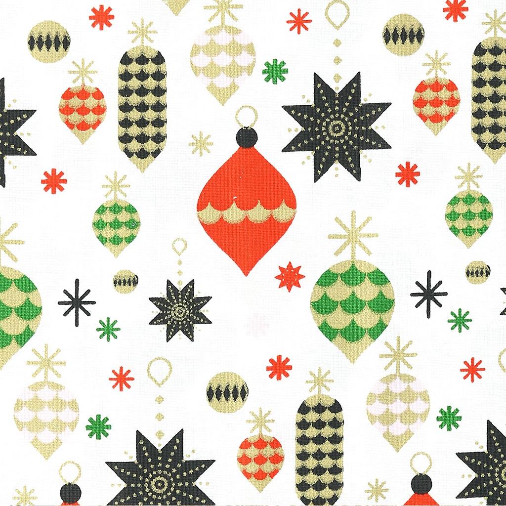 Tela navidad motivo decoraciones de rbol de navidad - Arbol de navidad de tela ...