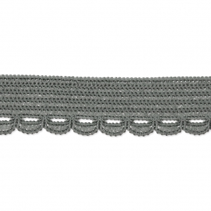 Cinta elástica para lencería 10 mm Gris x 1m - Perles   Co bc27e0eb7c88