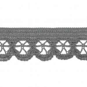 Cinta elástica para lencería 13 mm Gris x 1m - Perles   Co ba4ef952a9b5