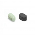 IOS® de Puca® 5,5x2,5 mm Opaque Light Green Ceramic Look x10g