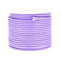 Cordon polyester imitation serpent type snake cord 2 mm Lilas x10 m