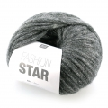 Lana Fashion Star Anthracite/plateado x50g