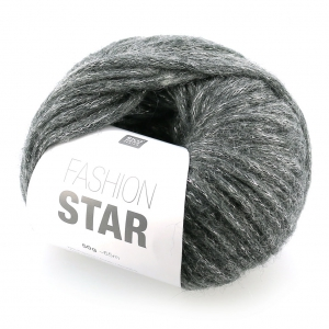 ccc6e0da4ed5e Lana Fashion Star Anthracite plateado x50g - Perles   Co