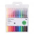 Surtido de 12 boligrafos con punta de pincel Colouring activity 1-4 mm Multicolor