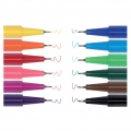 Surtido de 12 boligrafos con punta de pincel Colouring activity 0,7 mm Multicolor
