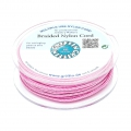 Hilo nylon trenzado europeo Griffin 0.5 mm Dark Pink x25m