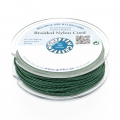 Hilo nylon trenzado europeo Griffin 0.5 mm Dark Green x25m