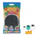Cuentas Hama Beads MIDI 5 mm Gris Oscuro (n°71) x1000