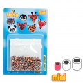Kit animales salvages en cuentas Hama MINI 2.5 mm para niños