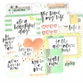 Surtido de12 cartes15x10-7.5x10cm para l'Album Project Life DIY Inspiration