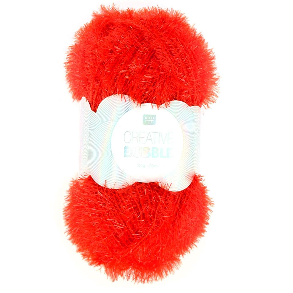 Creative Bubble - Hilo para ganchillo para estropajos Rojo x50g ...