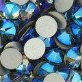 Strass para pegar Swarovski 6 mm Black Diamond Shimmer x10