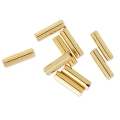 Bugles Miyuki 6 mm BGL-193 - 24kt Gold Light Plated x5g