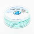Hilo nylon trenzado europeo Griffin 1.5 mm Turquoise Mint x20m