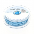 Hilo nylon trenzado europeo Griffin 1.5 mm Blue x20m