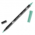 Rotulador Tombow Dual Brush - Rotulador punta de pincel doble Green ABT-296