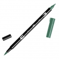Rotulador Tombow Dual Brush - Rotulador punta de pincel doble Sea Green ABT-346