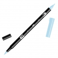 Feutre Tombow Dual Brush - Feutre pinceau double pointe Glacier Blue ABT-491