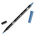 Rotulador Tombow Dual Brush - Rotulador punta de pincel doble Cobalt Blue ABT-535