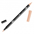 Rotulador Tombow Dual Brush - Rotulador punta de pincel doble Coral ABT-873