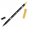 Feutre Tombow Dual Brush - Feutre pinceau double pointe Chrome Yellow ABT-985