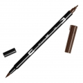 Rotulador Tombow Dual Brush - Rotulador punta de pincel doble Red Brown ABT-899
