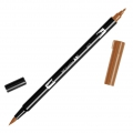 Feutre Tombow Dual Brush - Feutre pinceau double pointe Burnt Sienna ABT-947