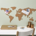 Mapa del Mundo corcho adhesiva Luckies London 100x46 cm The Corkboard Map